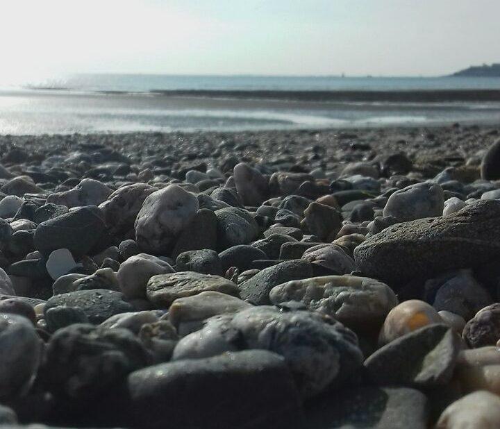Photo de la plage de notre centre par Léo Rémy